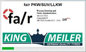 King-Meiler Steuerungssoftware SIRplan