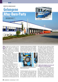 Artikel Gummibereifung - After-Burn-Party